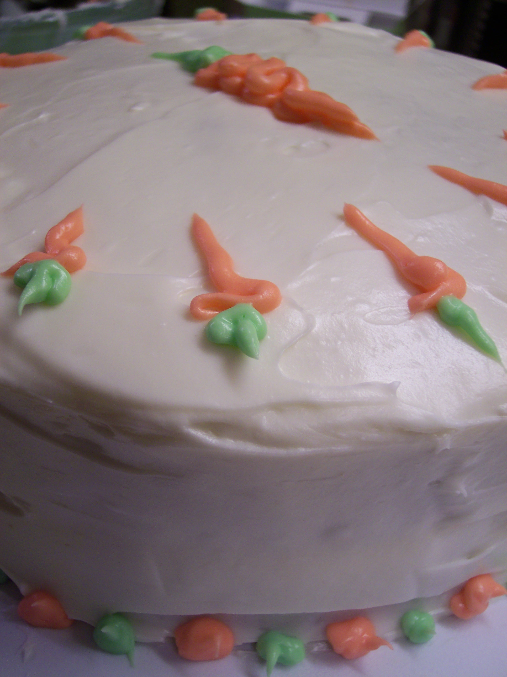 Carrot Cake with Cream Cheeze Frosting