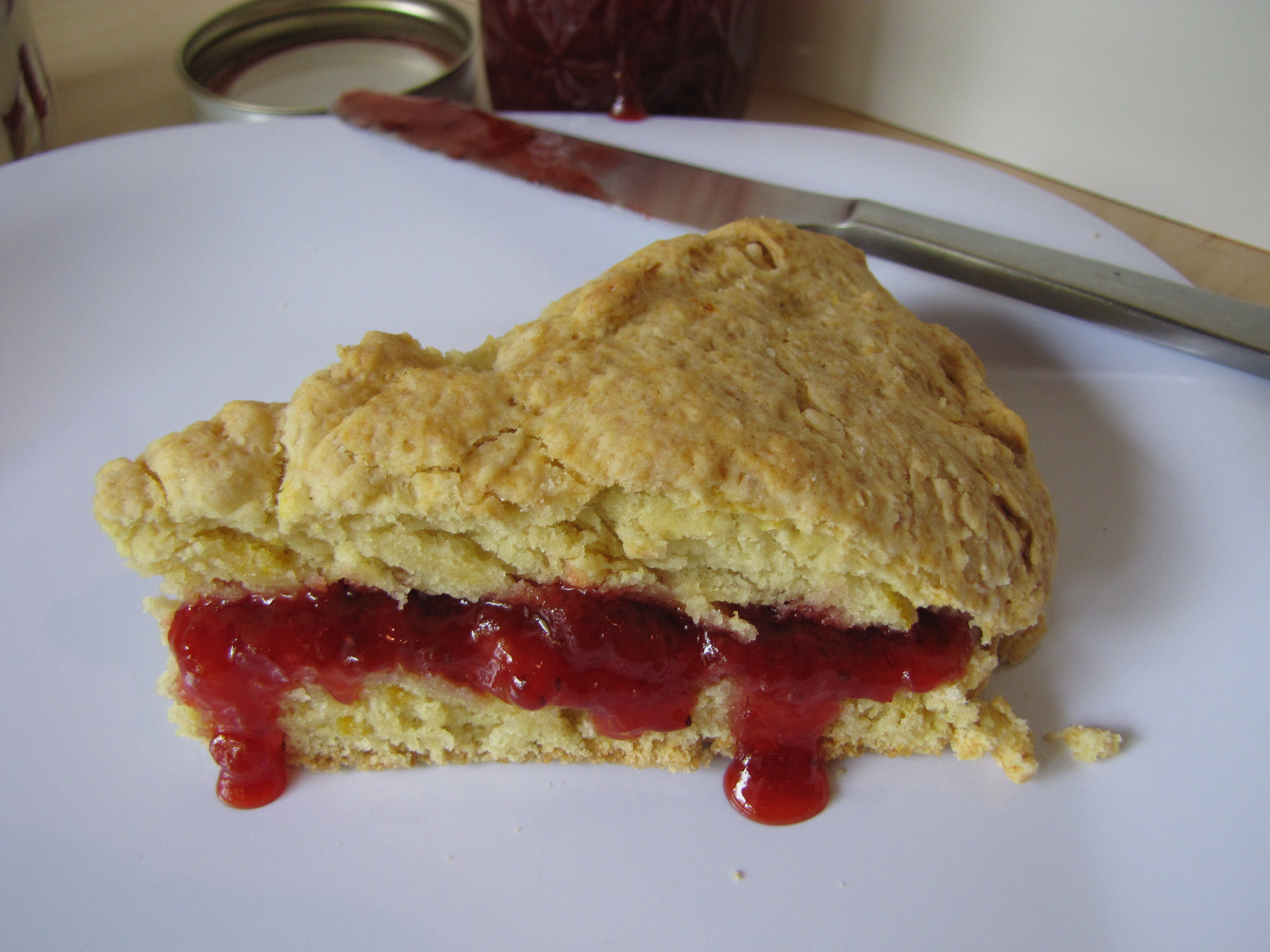 real scone