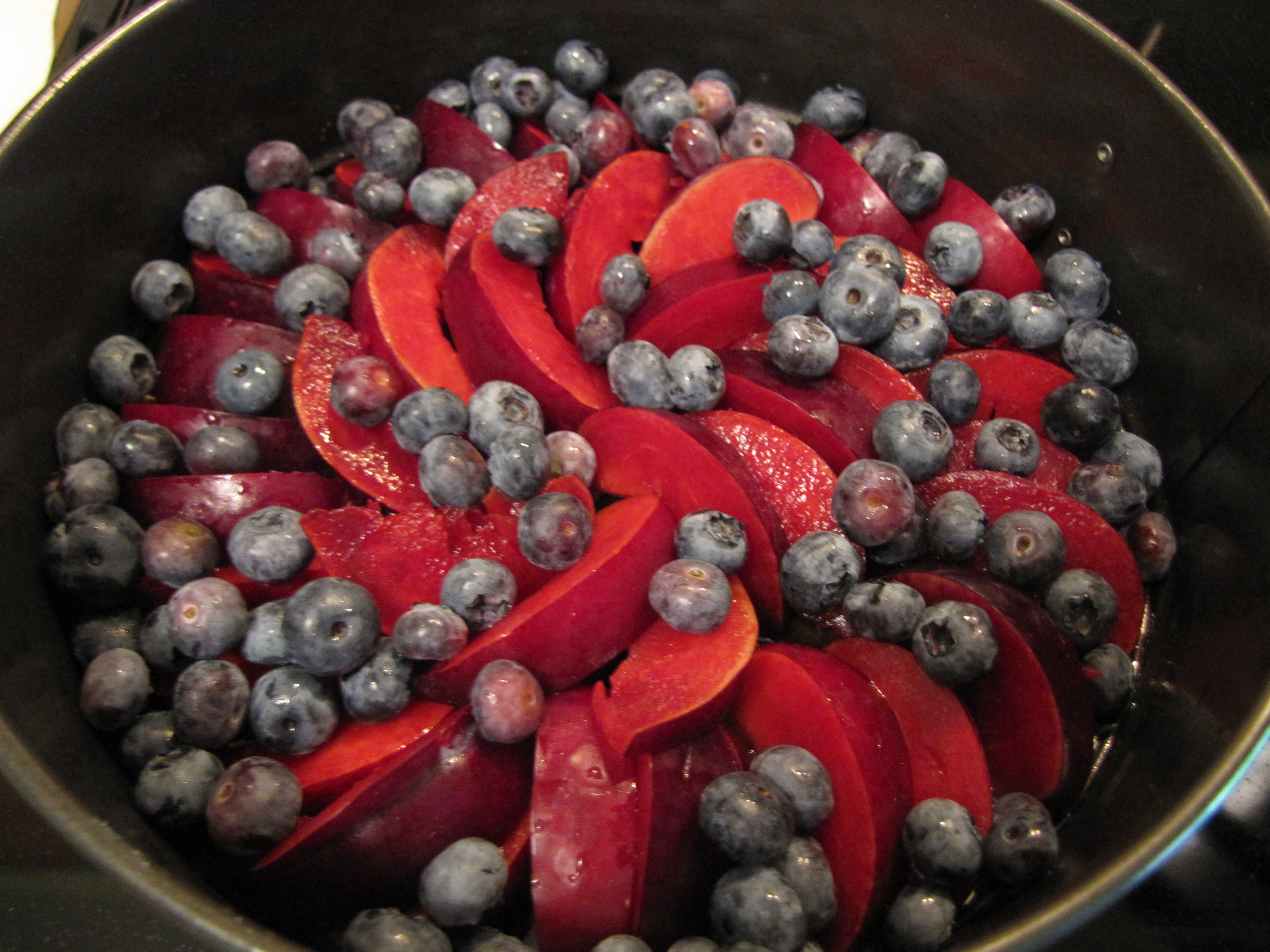 plum berry pan